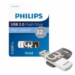 100 Bulk Philips Usb Flash Drive 32gb
