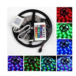 30 Units of 16 Foot Led Light Strip With Remote Control And Ac Dc Adaptor - Lightbulbs
