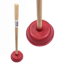 36 Units of 7 Inch Brown Plunger - Plumbing Supplies