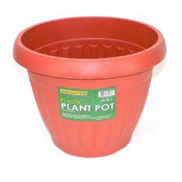 36 Units of 1 Piece Classic Plastic Plant Pot - Garden Planters and Pots