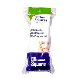 72 Bulk 80 Count Cotton Square