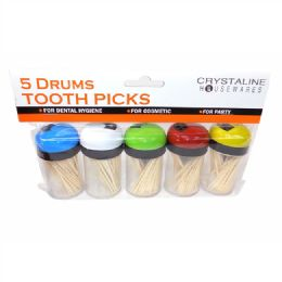 72 Units of Wooden Toothpicks - Toothpicks