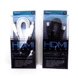 96 Units of Hdtv Cable - Television Antennas & Remote Controls