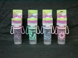 36 Units of Plastic Baby Bottle With Design - Baby Bottles