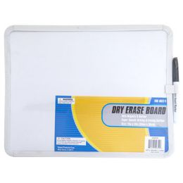 24 Units of Dry Erase Board With Magnets & Markers - Dry erase