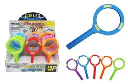 15 Wholesale Cob Led Colorful Magnifying Glass