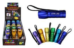 15 Bulk Cob Led Crazy Color Flashlight Ultra Bright
