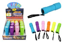 40 Bulk Cob Led Crazy Color Promo Flashlight Ultra Bright
