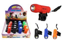 16 Bulk Cob Led Flashlight/bike Light Ultra Bright