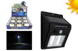9 Bulk Cob Led Solar Powered Motion Activated Light Ultra Bright