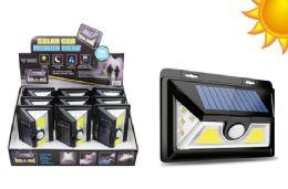 9 Bulk Deluxe Cob Led Solar Motion Light 500 Lumens