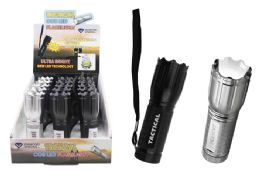 15 Bulk Tactical Cob Led Flashlight Ultra Bright