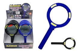 12 Wholesale Xlarge Cob Led Magnifying Glass