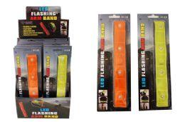 16 Wholesale 4 Led Flashing Arm Band