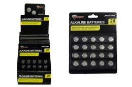 48 Units of Alkaline Button Cell Batteries - Batteries