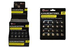 24 Units of Alkaline Button Cell Batteries - Batteries