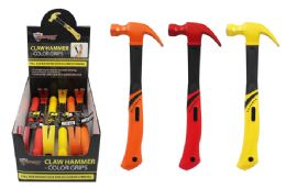 6 Units of Colorful Claw Hammer - Tape Measures and Measuring Tools