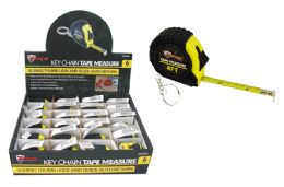 24 Units of Keychain Tape Measure - Tape Measures and Measuring Tools