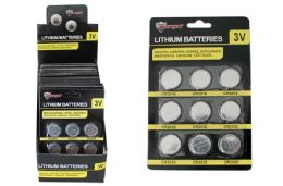 48 Units of Lithium Button Cell Batteries - Batteries