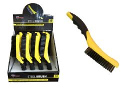 16 Units of Long Handle Steel Shoe Brush - Footwear & Shoes