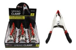 24 Units of Metal Spring Clamp - Clamps