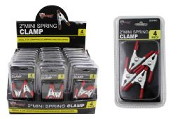 24 Units of Metal Spring Clamps - Clamps