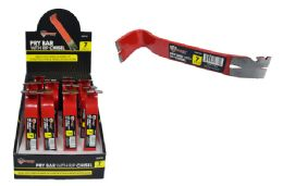 16 Units of Mini Pry Bar With Rip Chisel - Hardware Products