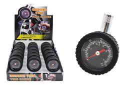 18 Units of Rubber Wheel Dial Tire Gauge - Auto Maintenance