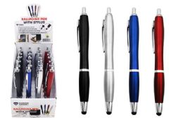 48 Units of Ball Point Pen With Stylus Tip - Cell Phone Accessories