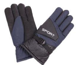 72 of Men's Ski Glove With Velcro Strap