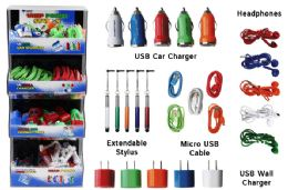 180 Units of Cell Phone Accessory Tower 2017 Assortment - Cell Phone Accessories