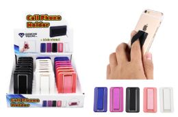 48 Wholesale Elastic Cell Phone Grip With Kick Stand