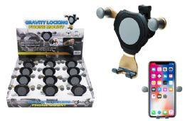 12 Wholesale Gravity Locking Car Air Vent Phone Mount