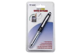 24 Wholesale Pen With Stylus And Led Carded