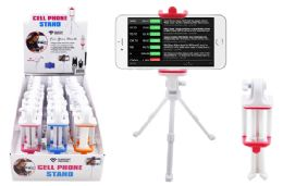 24 Wholesale Tripod Cell Phone Stand