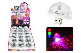 36 Wholesale Usb Disco Bulb 3 Leds Sound Activated