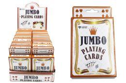72 Bulk Jumbo Playing Cardsl
