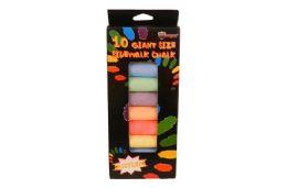 48 Wholesale Jumbo Sidewalk Chalk