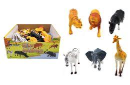 60 Units of Toy Wild Animal - Animals & Reptiles
