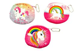 48 Units of Unicorn Coin Purse - Coin Holders & Banks