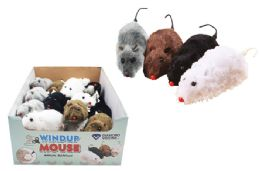 48 Units of Wind Up Mouse - Animals & Reptiles