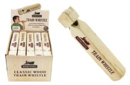 40 Units of Wooden Train Whistle - Toys & Games