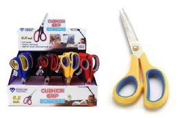 36 Bulk Cushion Grip Scissors