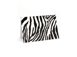 108 Units of 10 Count Zebra Notecards And Envelopes Set - Note Books & Writing Pads