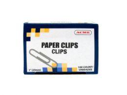 90 Bulk 1 Paper Clips 100 Count
