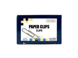 180 Bulk 1.25 Paper Clips 100 Count