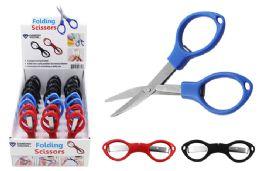 48 Bulk Folding Travel Scissors
