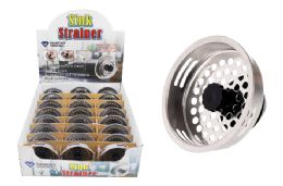 48 Units of Metal Sink Strainer - Strainers & Funnels