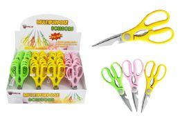 36 Bulk Multi Purpose Neon Scissors