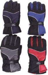 48 Bulk Men's Winter Waterproof Ski Glove